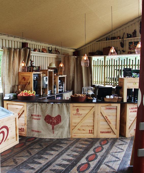 Cafe Savannen disk framifrån 1